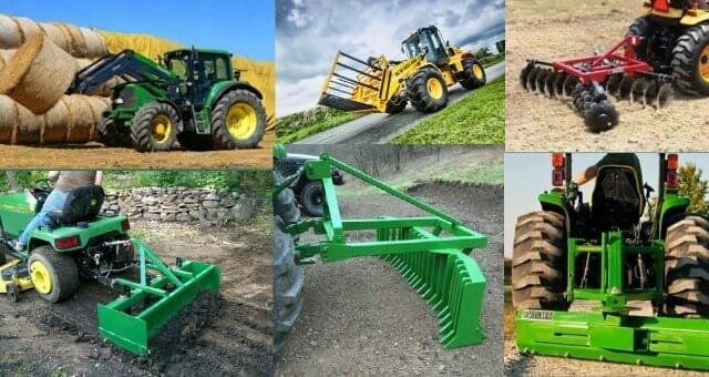 Useful Tractor Implements &Attachments