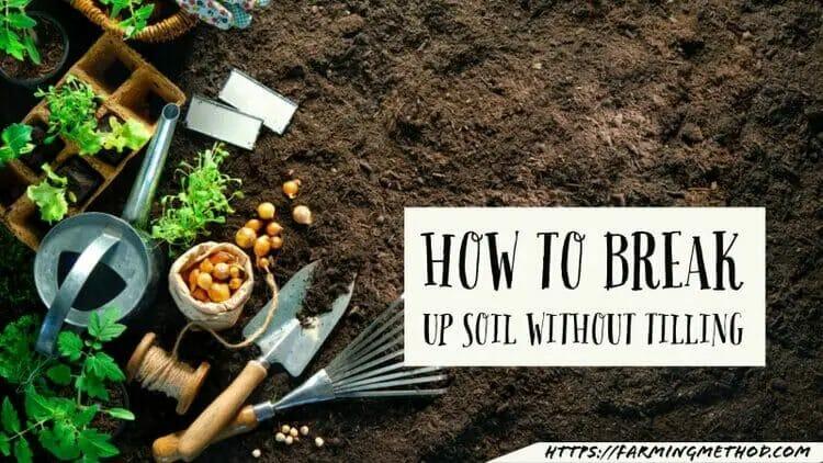 break up soil without tilling